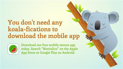 You don't need any koala-fications to download the mobile app