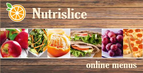 Click for Nutrislice homepage