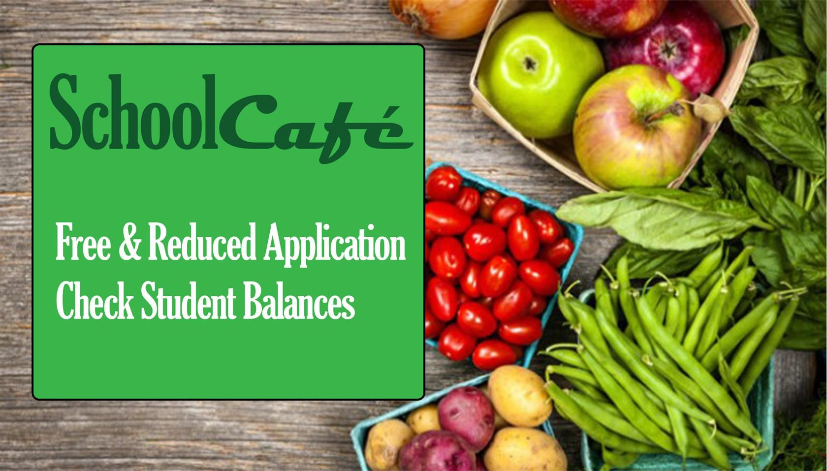 Click for SchoolCafe Homepage
