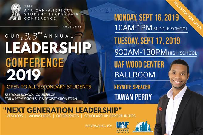 33rd Annual African American Leadership Conference