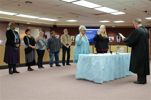 New School Board members sworn in