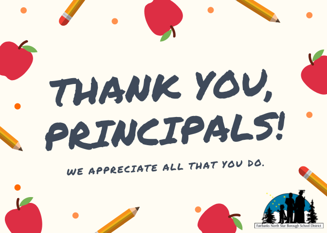 Thank you principals