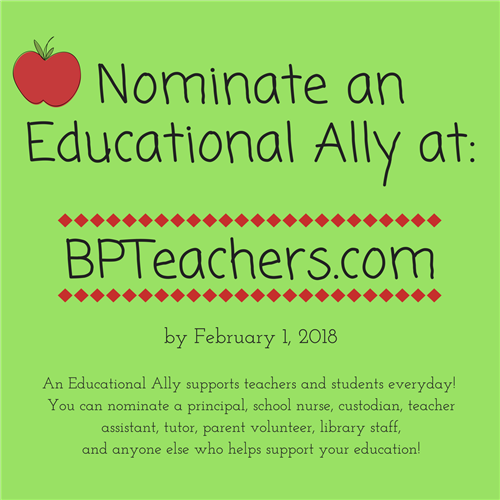 Nominate an Educational Ally
