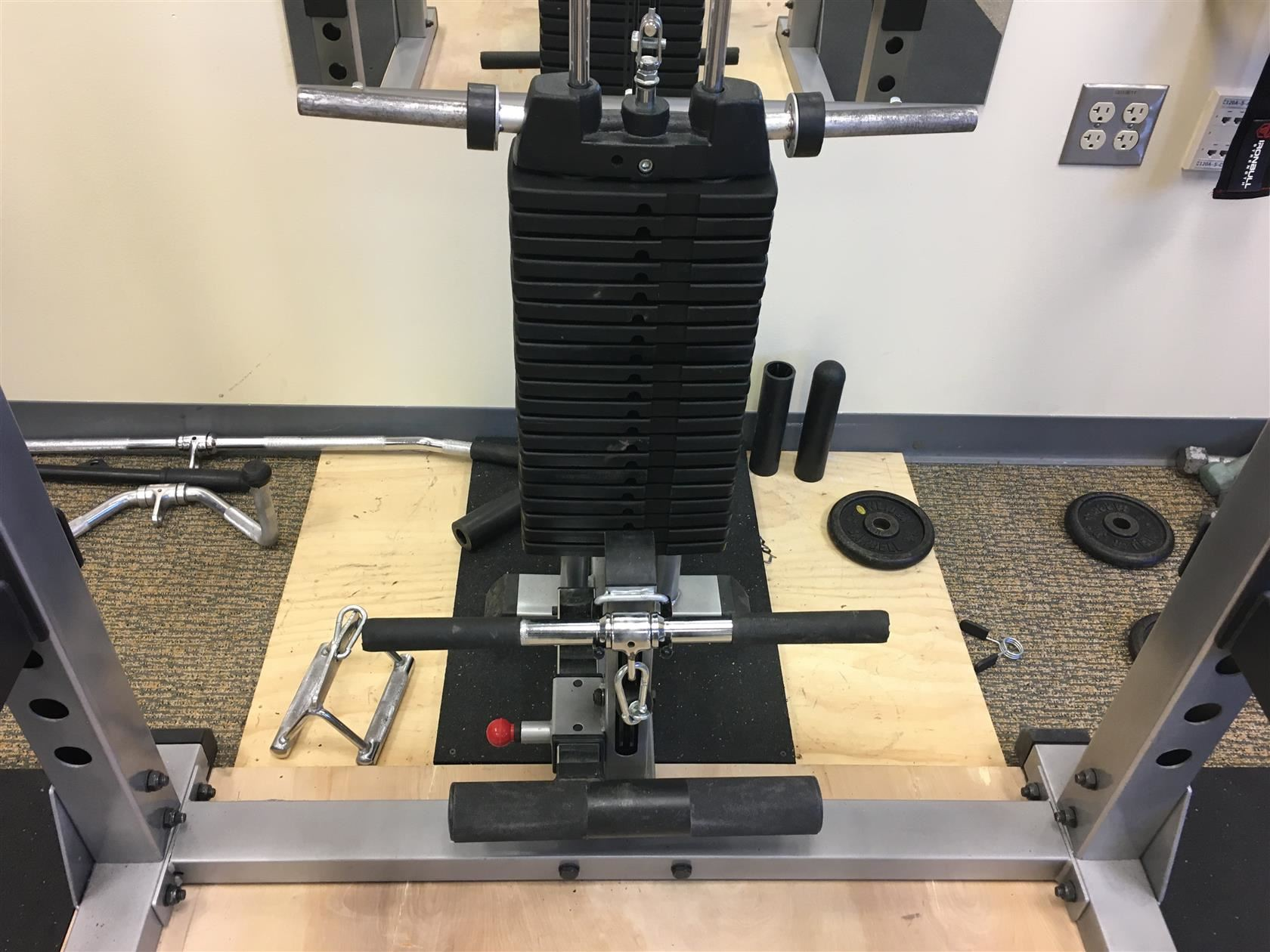 New weightlifting equipment
