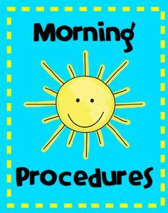 Morning Drop-Off Procedures
