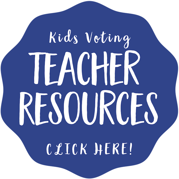Kids Voting Teacher Resources Button