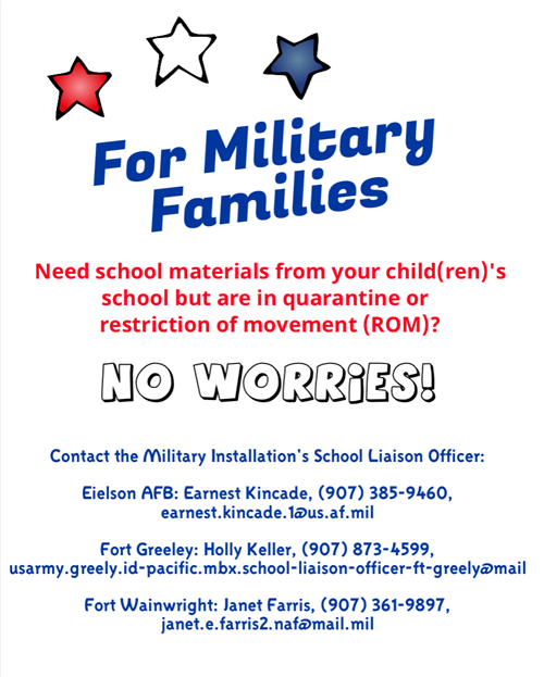 Resource Flyer for Military Families