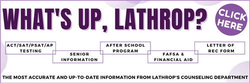whats up, lathrop
