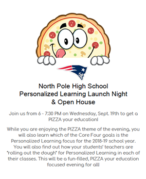 NPHS Personalized Learning Launch Night and Open House