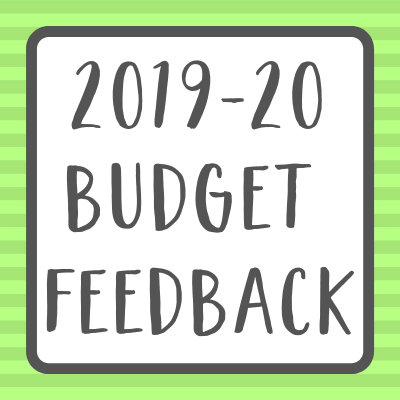 budget feedback survey