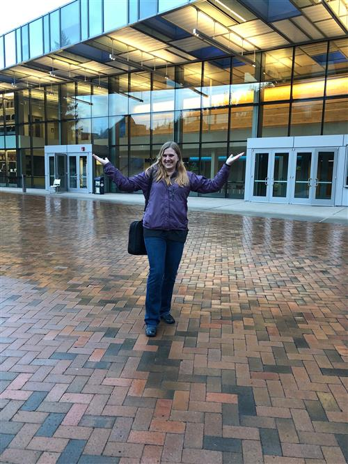 Mrs. Zayon at Western Washington University