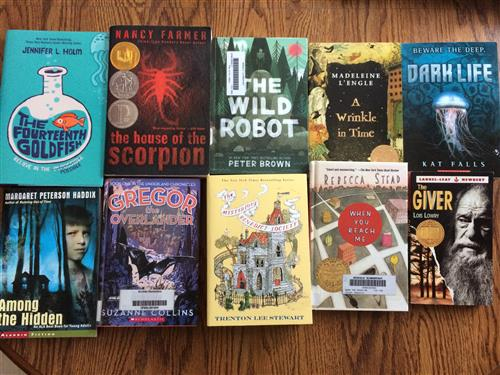 10 Science Fiction books