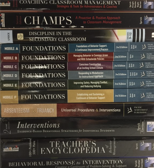 CHAMPS books in Library Media Services