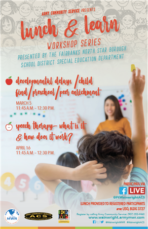 Lunch and Learn Workshop Series