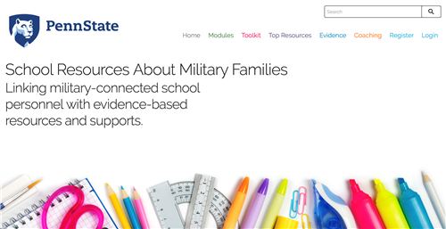 School Resources About Military Families