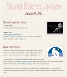 School District Update-01/17/2020
