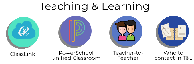 Teaching & Learning Icons