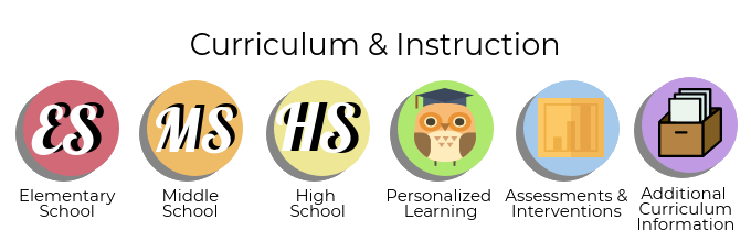 Curriculum & Instruction Icons