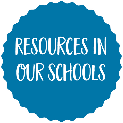 Resources in our schools