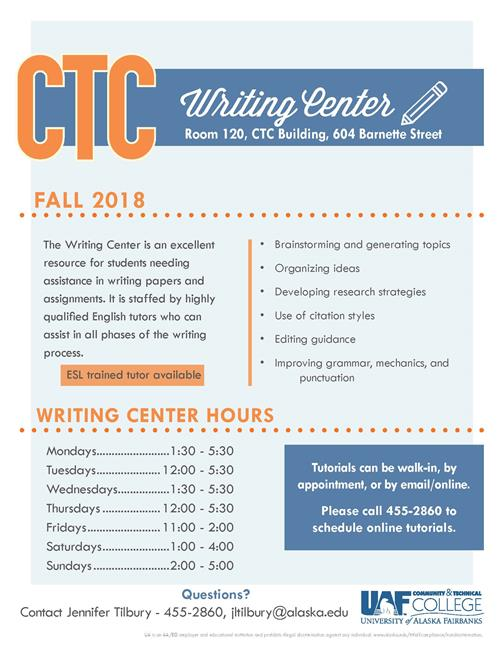 CTC Writing Center