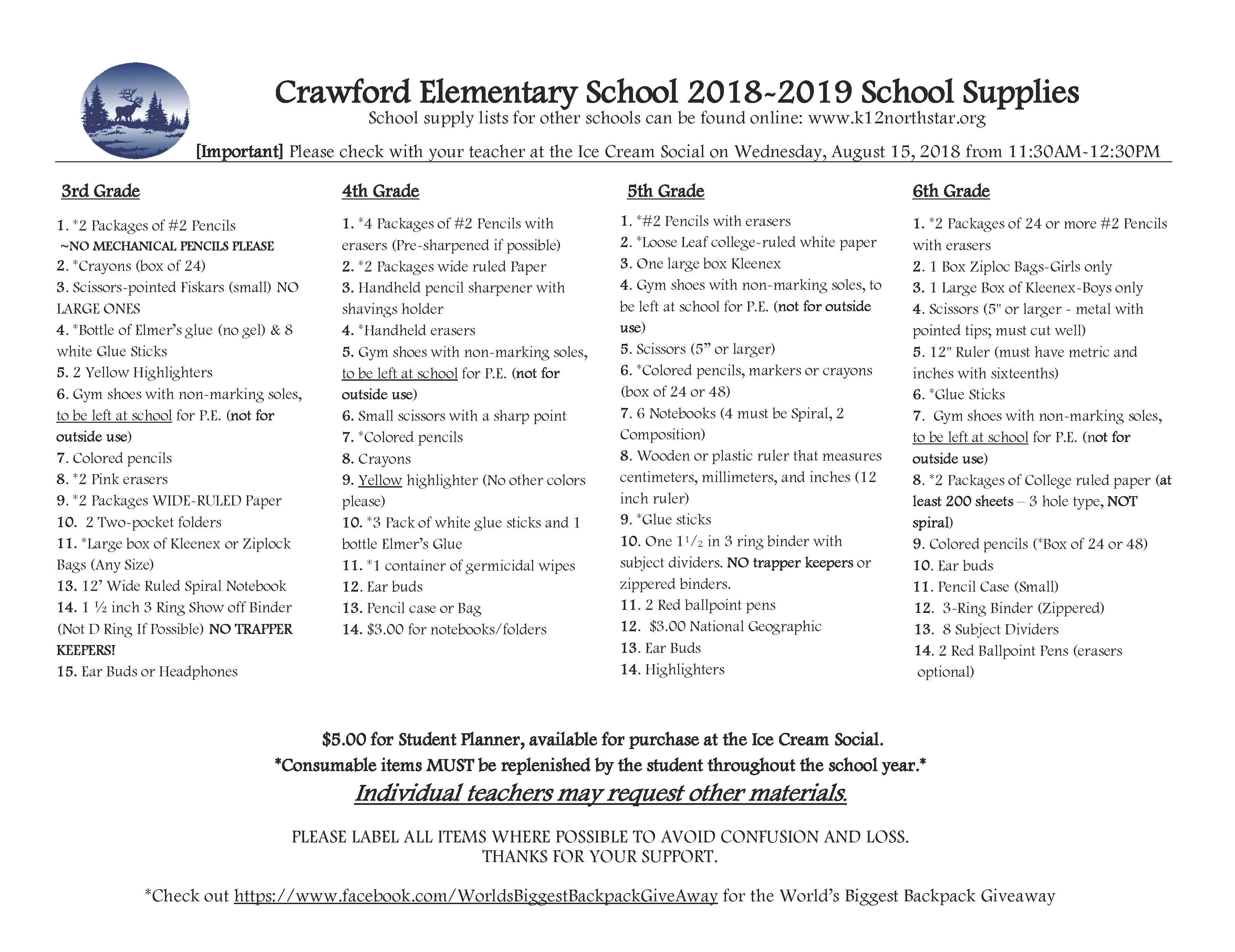 Crawford Elementary / Home