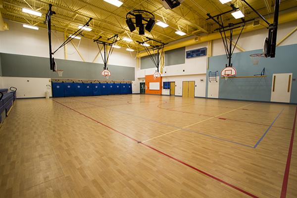 Roseau school fitness center overview