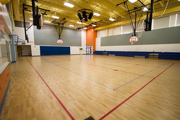 Building rentals elementary school gyms